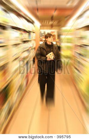 Einkaufen im Supermarkt
