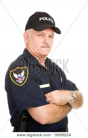 Police Officer - Suspicious