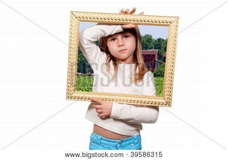 Girl In A Frame