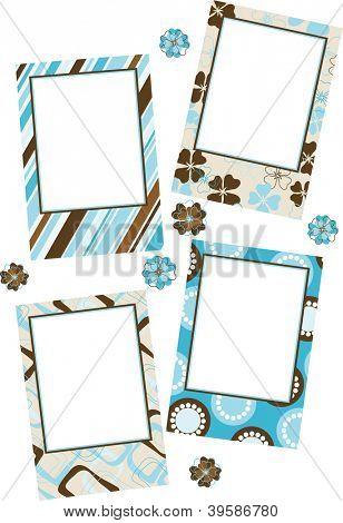 Template photo frames
