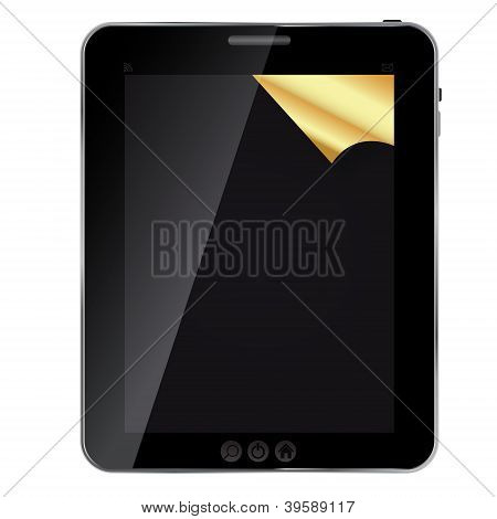 Abstract tablet. Vector illustration. EPS 10 .