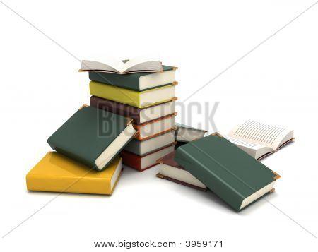 Three Dimensional Pileup Books