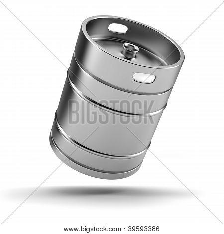 Metall Bierfaß