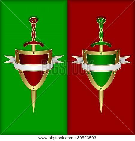Junta, espada y bandera