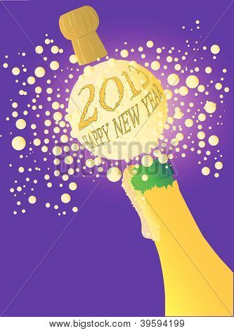 Bubbly New Year