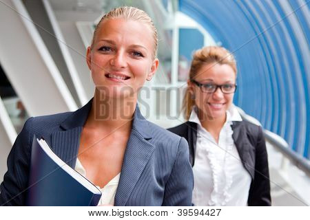 Two business women