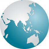 Globe Asia poster