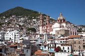 picture of taxco  - Taxco is a small city located in the Mexican state of Guerrero - JPG
