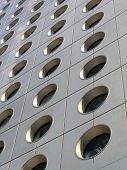 Circular Windows Of An Office Building poster