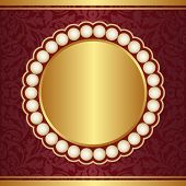Ornate Crimson Background