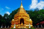 Wat Phra That Doi Suthep is a major tourist destination of Chiang Mai, Thailand. poster