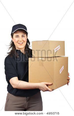 Delivering A Fragile Parcel