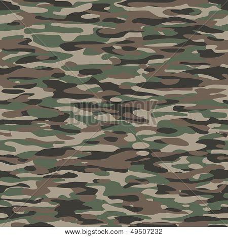 Padrão de camuflagem têxtil