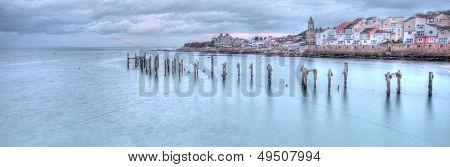 Swanag Pier at dusk
