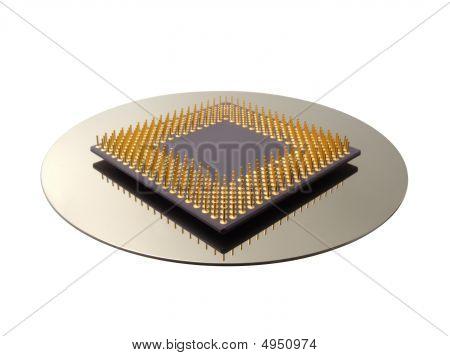 CPU & plato de disco duro
