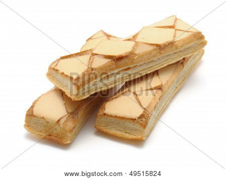 Iced Puff Pastry Biscuits