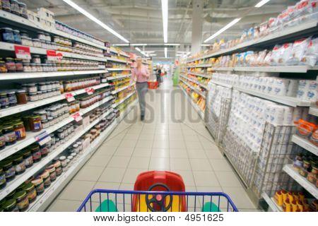 Perspectiva de supermercado