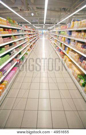 Supermarkt Perspektive