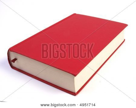Blank Red Book