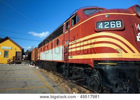 Diesel Railroad Engine