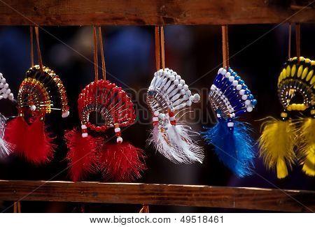 Native American Powwow Souveniers
