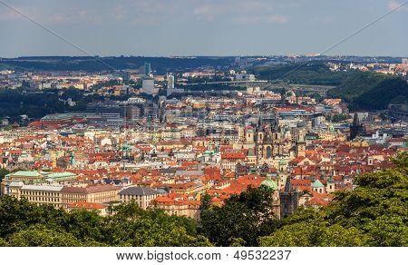 View Of Prague Old Town (stare Mesto) - Czech Republic