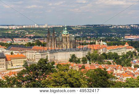 View Of Prague Castle (prazsky Hrad) - Czech Republic