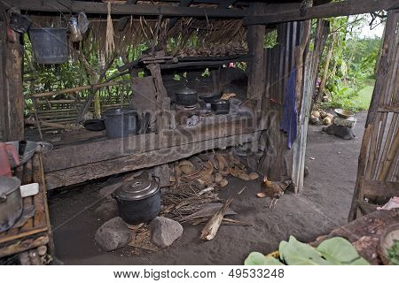 Filipino Outdoor or Dirty Kitchen