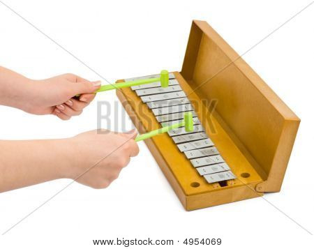 Hands And Xylophone