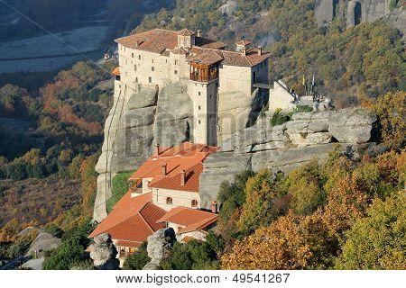 Rousanou Monastery in Meteora