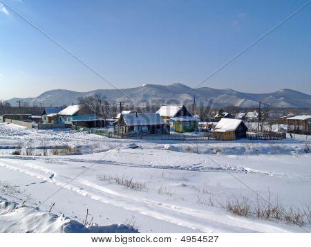 The Rural Landscape In Winter