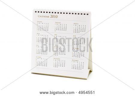 2010 Desktop Calendar