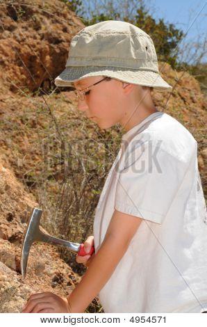 Boy Geologist