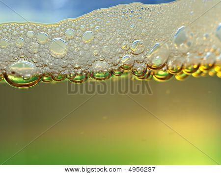Sparkling Drink Bubbles