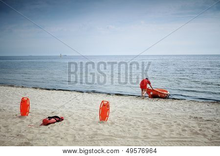 Lifeguard Beach Rescue Equipment