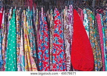 colorful cotton dresses