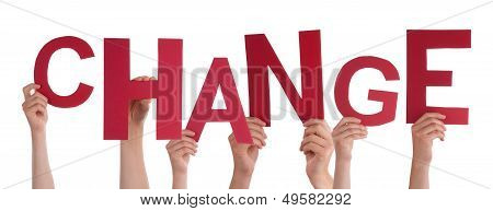 Hands Holding Change