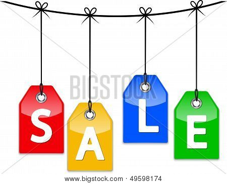 Sale Price Tags