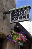 foto of old post office  - An old fashioned Post Office in the British countryside - JPG