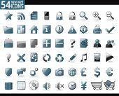 picture of home is where your heart is  - 54 Cold Gray Web Icons for your internet sites - JPG