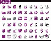 foto of home is where your heart is  - 54 Violet Web Icons for your internet sites - JPG