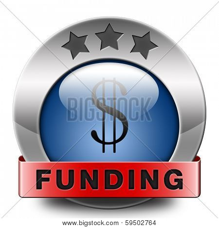 funding icon fund raising for charity money donation for non profit organization