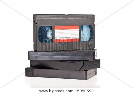 Old Video Cassette tapes