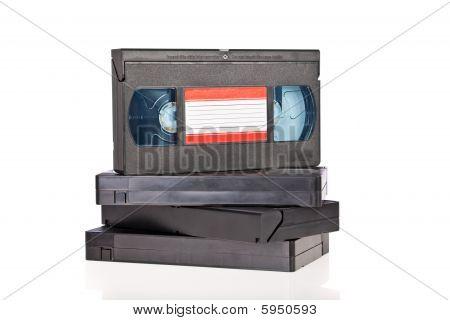 Viejas cintas de Cassette de Video