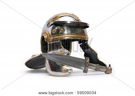 Helmet And Dagger