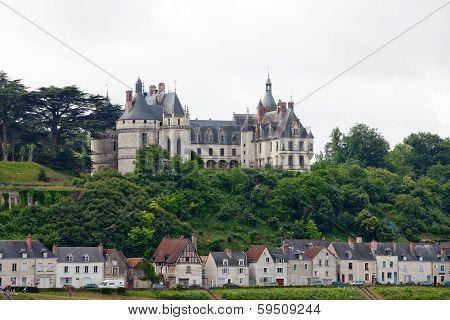 Chaumont-sur-Loire castle. Chaumont castle is one of the oldest chateaux of Loire.