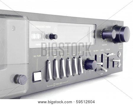 Old Cassette Recorder.