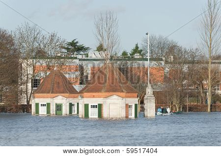 River Thames Flood