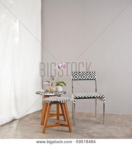 Checkered Board Garden Furniture