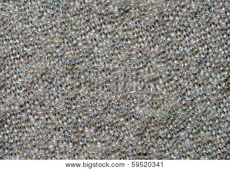 Iridescent Bead Background